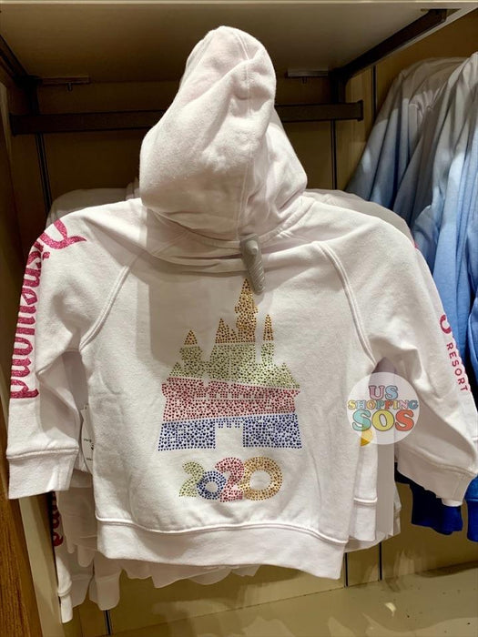 DLR - Year 2020 - Embroidery Hotfix Hoodie Jacket (Youth) (White)