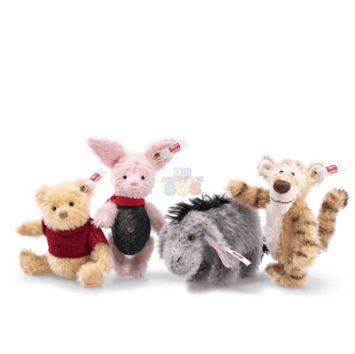 UKDS - Steiff Christopher Robin Collectibles, Set of 4
