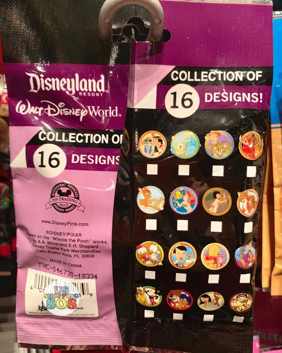 DLR - Mystery Collectible Pin Pack - Best Friends