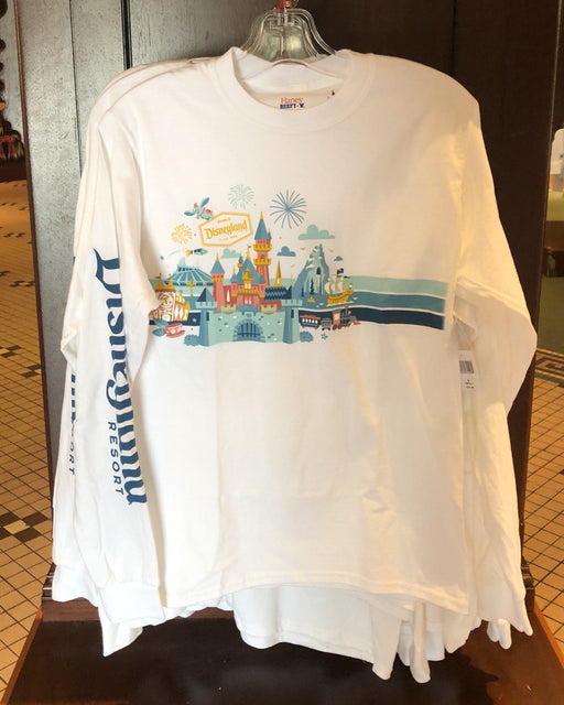 DLR - Disneyland Attractions (Dumbo) Long Sleeve Tee