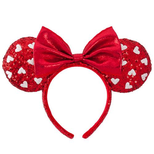 TDR - Minnie Sweetheart Headband - Red