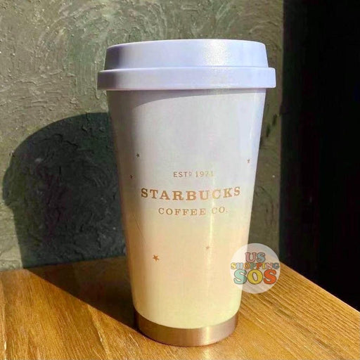 Starbucks China - Christmas Time 2020 Aurora Series - Stainless Steel ToGo Tumbler 370ml