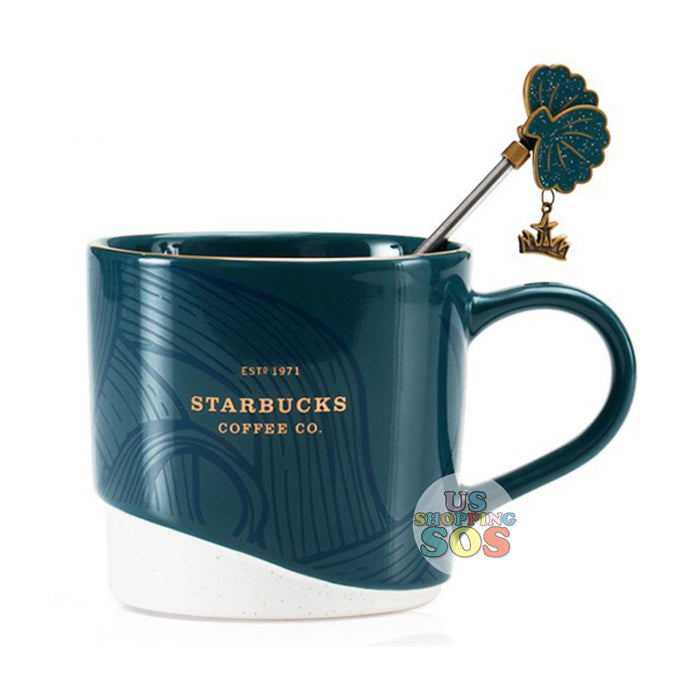 Starbucks China - Anniversary 2020 - 2-Tone Mug with Shell Stir 355ml