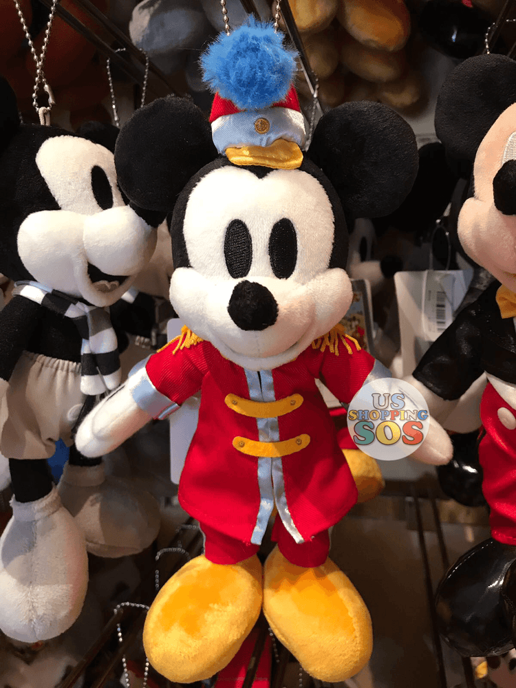 TDR - Mickey's Movie Plush Keychain - The Band Concert