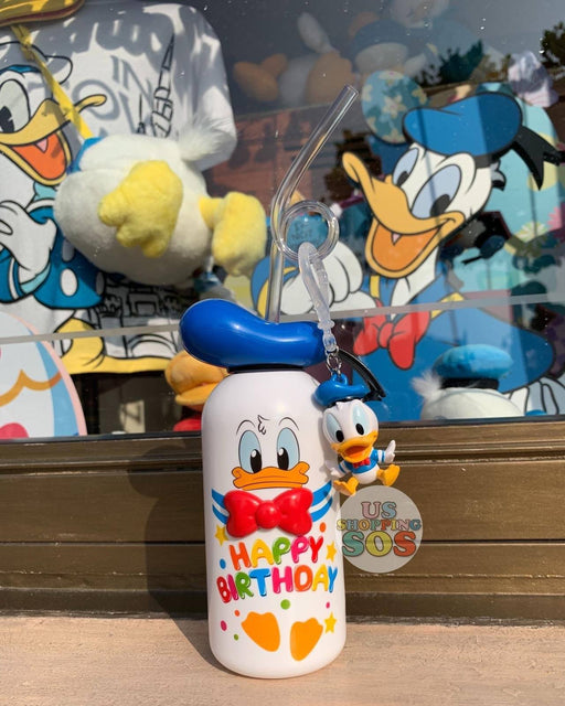 SHDL - Souvenir x Donald Duck Drink Bottle/Tumbler & Straw