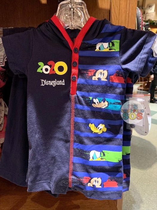 DLR - Year 2020 - Graphic Baby Romper (Infant & Toddler) (Blue)