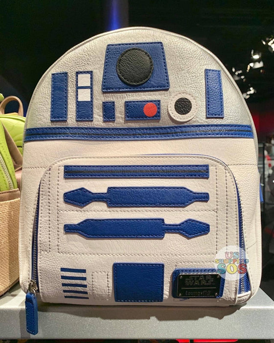 DLR - Loungefly Star Wars Backpack - R2-D2
