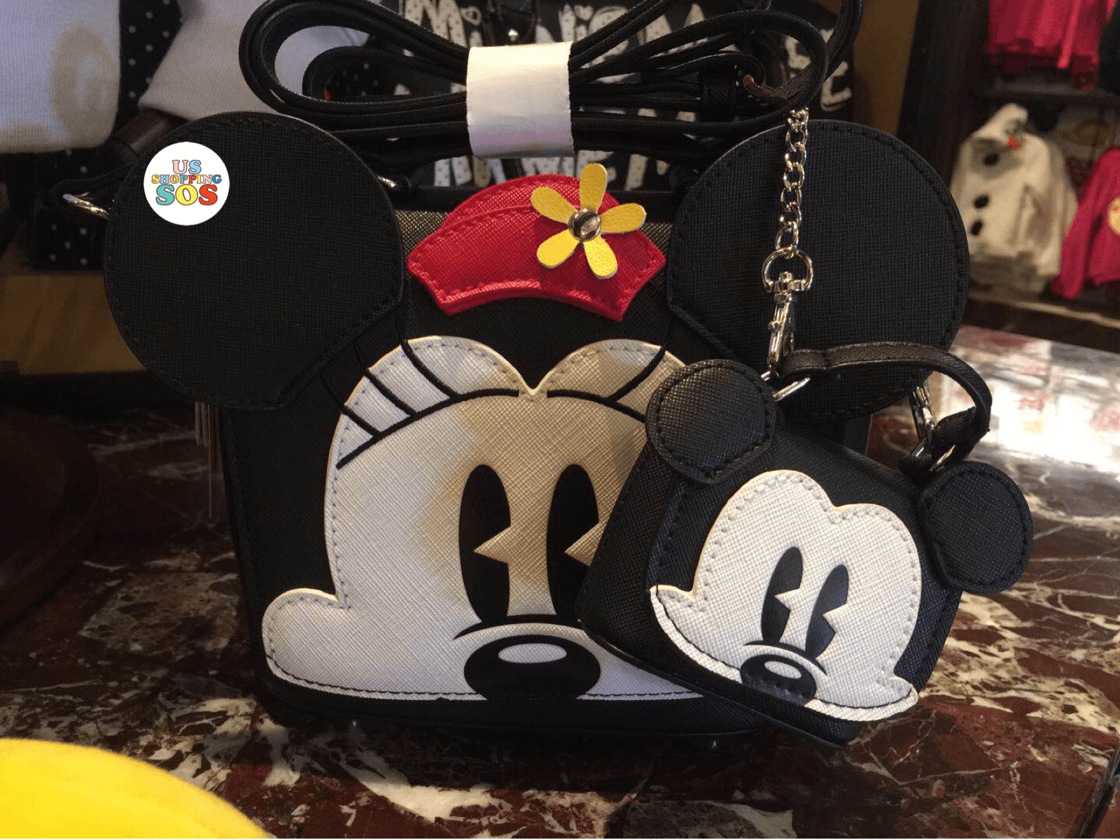 SHDL - Crossbody Bag + Coin Purse Set