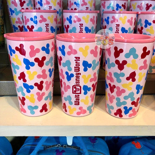 WDW - Stainless Steel ToGo Tumbler - Walt Disney World Mickey Balloons