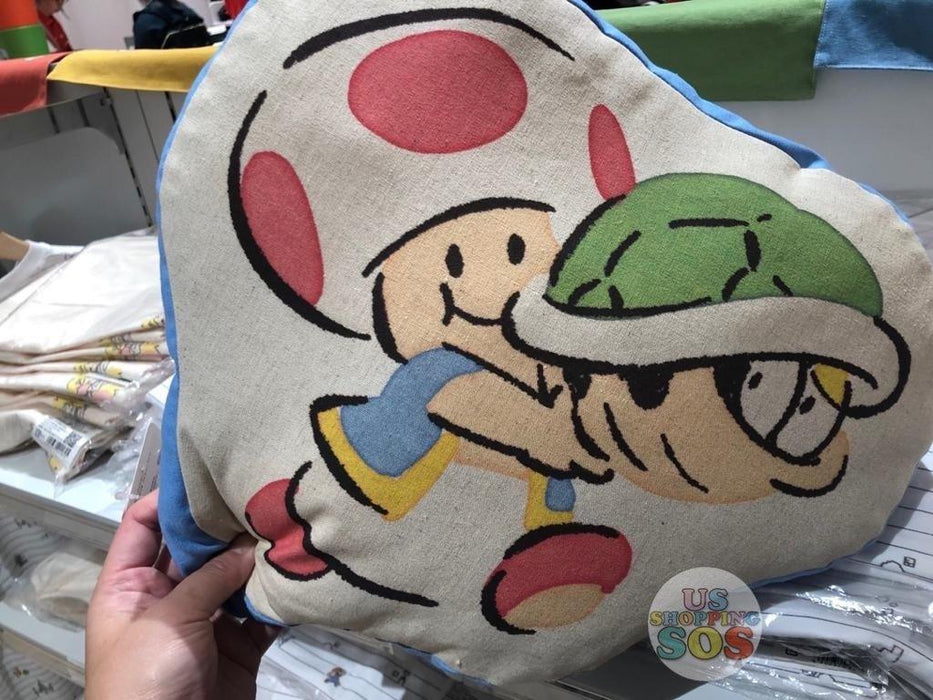 Japan Nintendo - Super Mario Cushion x Toad