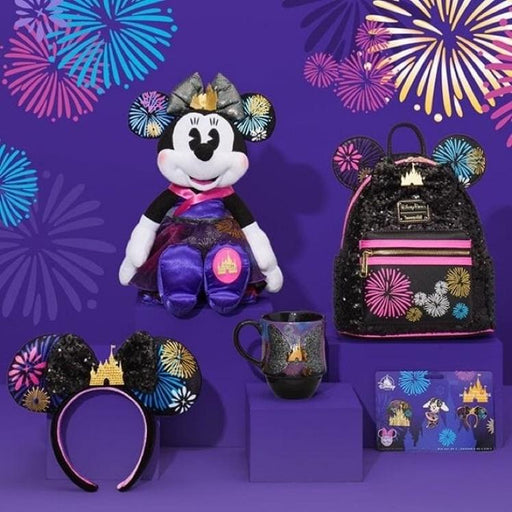 SHDL/SHDS/ShopDisney - Minnie Mouse the Main Attraction Series - December (Nighttime Fireworks & Castle Finale)