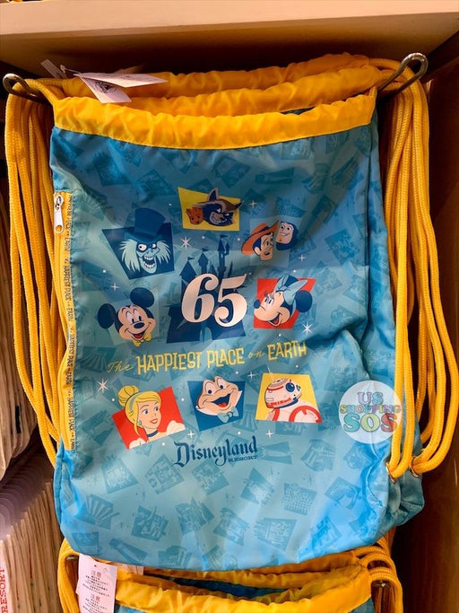 DLR - Disneyland Park 65th Anniversary - Drawstring Backpack