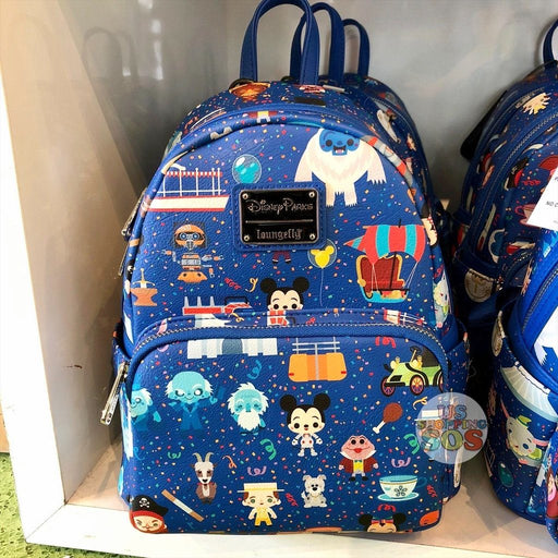 WDW - Loungefly Disney Parks Chibi Backpack