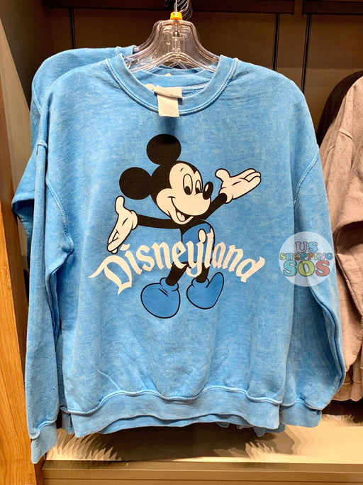 "DLR - Mickey ""Disneyland"" Classic Pullover (Adult) - Blue"