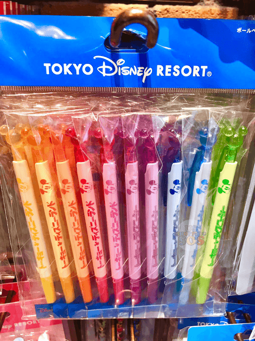 TDR - Mickey Icon Multicolor Ballpoint Pen Set (of 10)