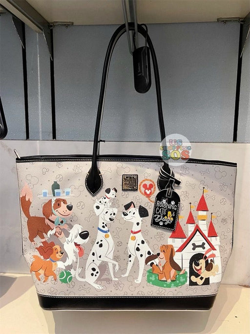 DLR - Disney Reigning Cats & Dogs 🐾 - Dooney & Bourke Disney Dogs Tote Bag