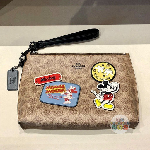 WDW - Coach Mickey Patches Pouch