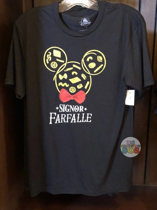 WDW - Epcot World Showcase Italy - Mickey Pasta Signora Farfalle T-shirt (Adult)