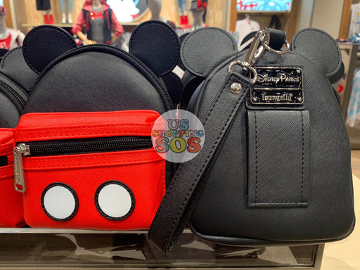 DLR - Loungefly Mickey Backpack Wristlet