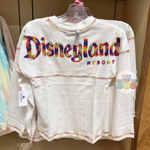 "DLR - ""Disneyland Resort"" Spirit Jersey (Youth) - Minnie Mouse Rainbow/White"