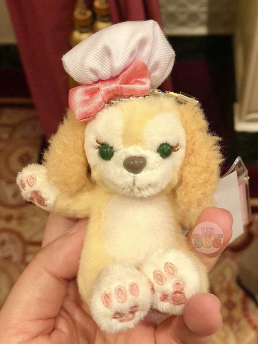 HKDL - Duffy's New Friend - Cookie Sitting Plush Keychain