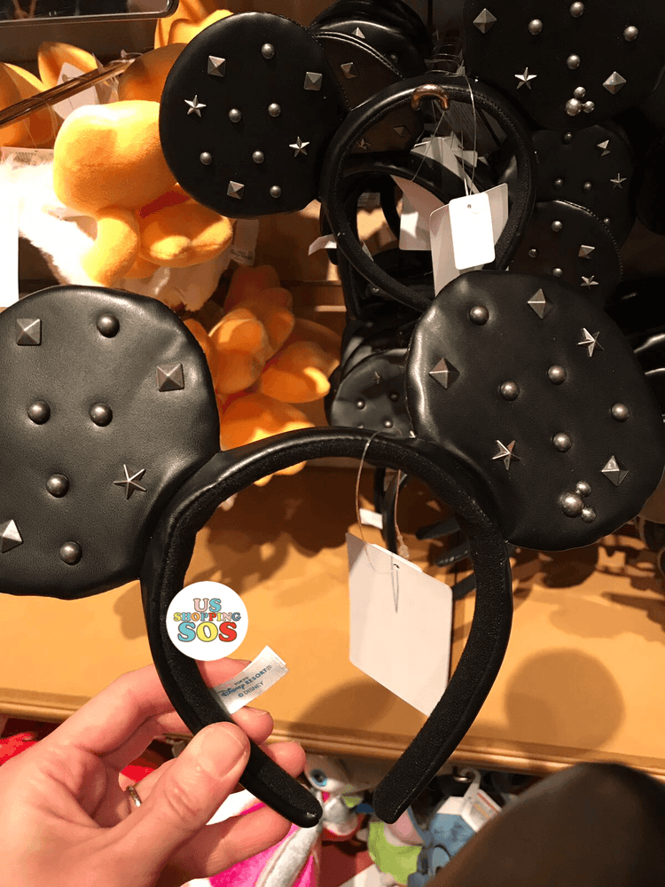 TDR - Mickey Stud Leather Headband