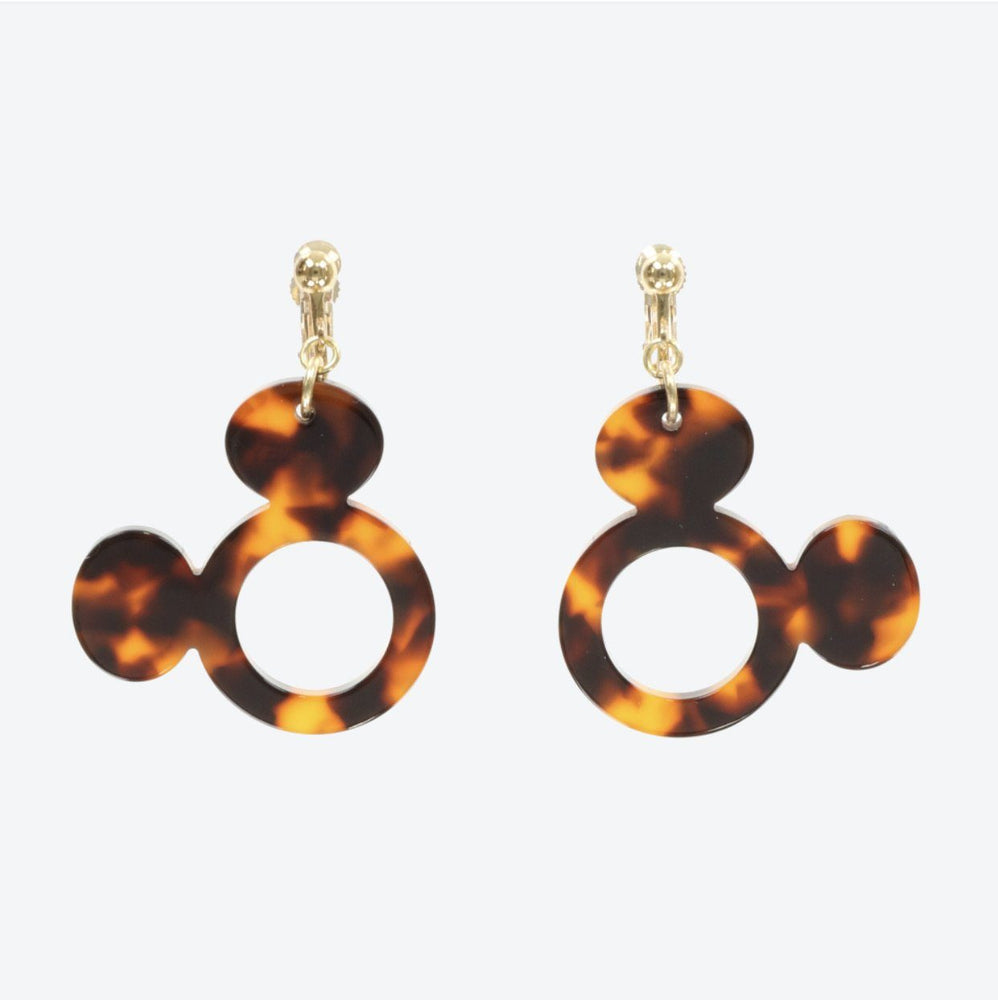 TDR - Mickey Mouse Amber Earrings