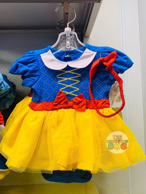 DLR - Baby Costume Bodysuit & Headband - Snow White (Design B)