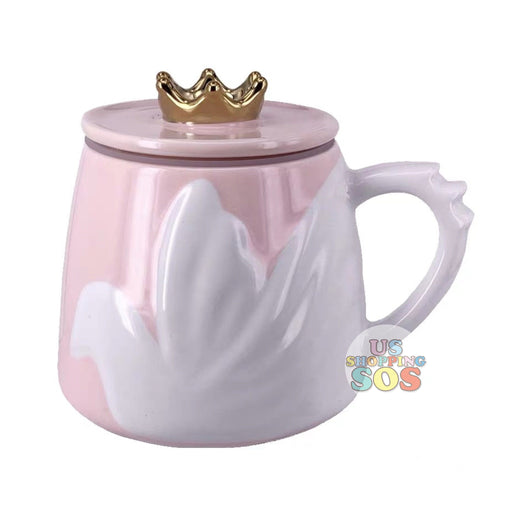 Starbucks China - Valentine 2020 - Love & Peace Dove Mug with Tiara Lid  (355ml)