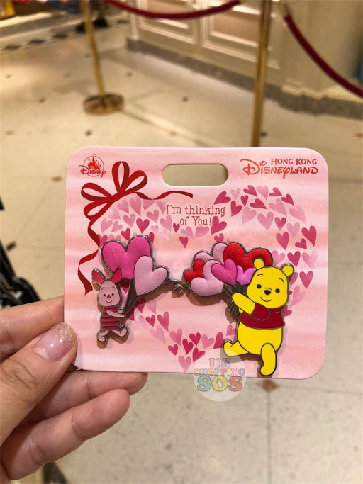 HKDL - Valentines Day 2019 Collection - Pin x Pooh & Piglet
