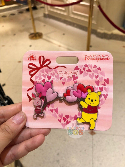 HKDL - Valentines Day Collection - Pin x Pooh & Piglet