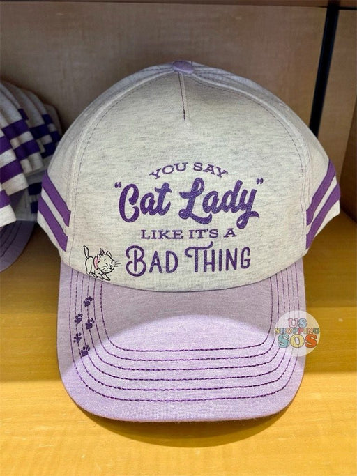 DLR - Disney Reigning Cats & Dogs 🐾 - You Say Cat Lady Like It's A Bad Thing Baseball Cap (Adult)