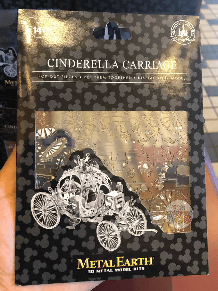 DLR - Metal Earth 3D Model Kit - Cinderella Carriage
