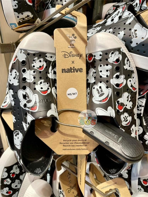 DLR - Native All-Over-Print Mickey Mouse Shoes (Adult)