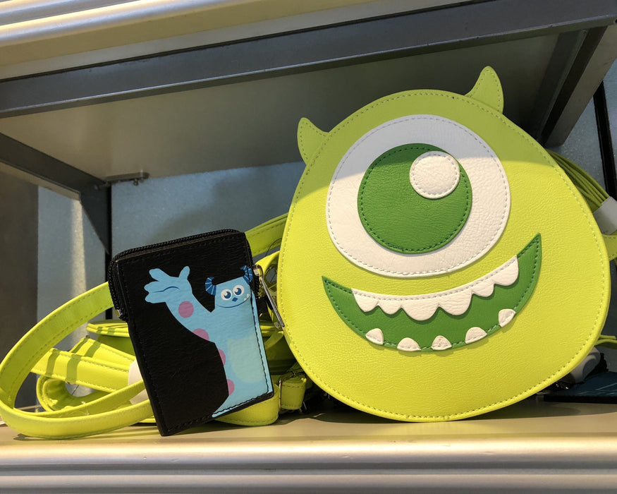 DLR - Loungefly Monster Inc Crossbody Bag with Coin Case