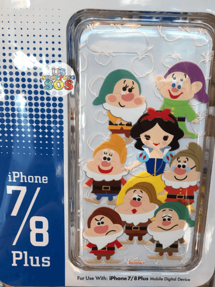 HKDL - iPhone Case - Snow White & Seven Dwarfs