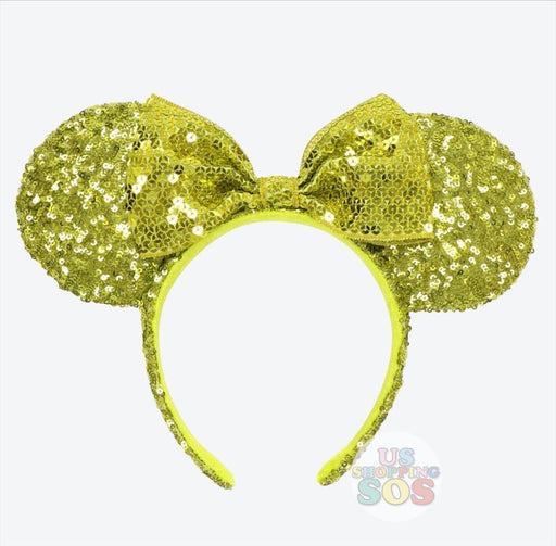 TDR - Minnie Honeysuckle Gold Sequin Headband