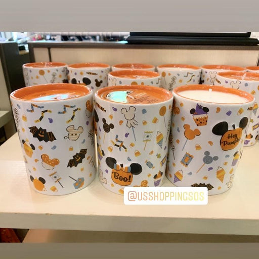 DLR - 🎃 Halloween Time 2020 - All-Over-Print Candle Holder & Candle