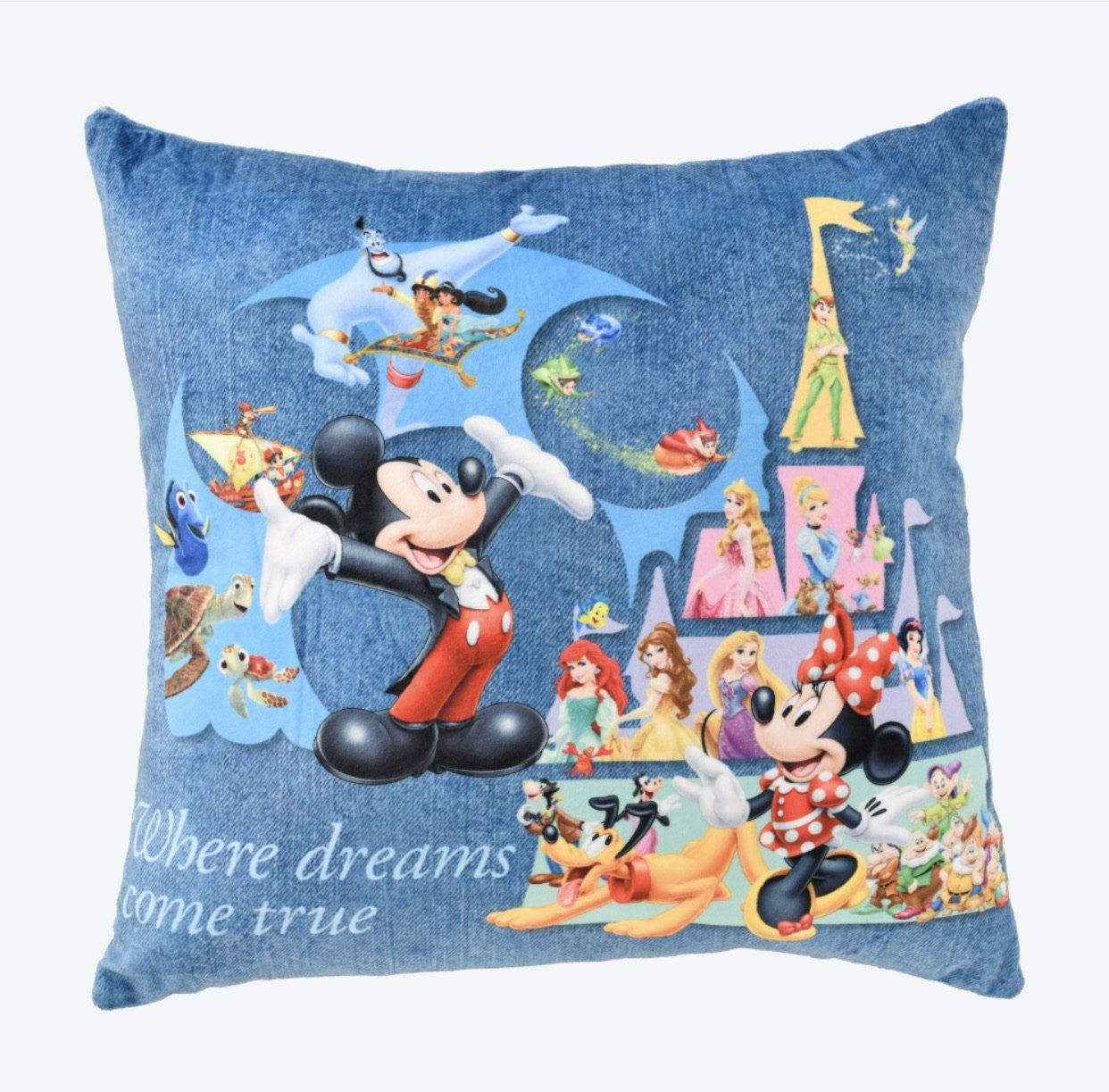 TDR - 'Where Dreams Come True' Cushion