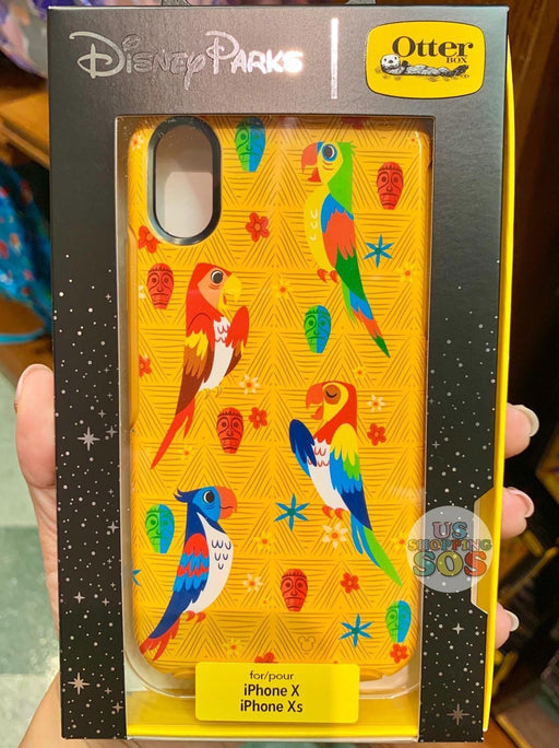 DLR - Otter Box Attraction Enchanted Tiki Room Case - iPhone X/Xs