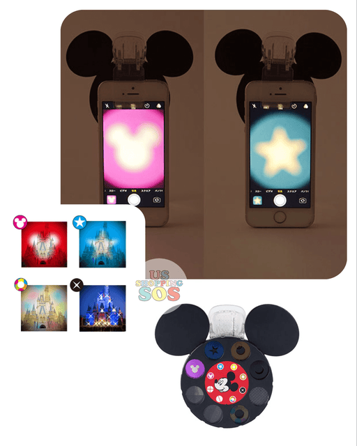 TDR - Mickey Mouse Icon Phone Lens Filter