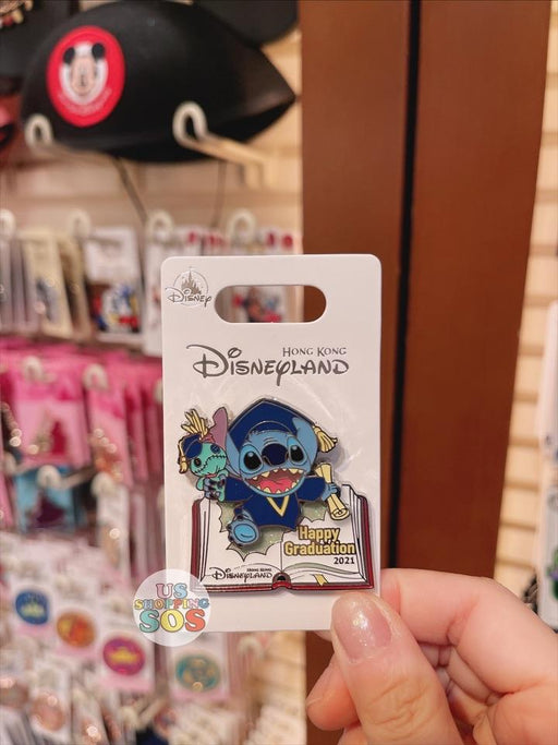 HKDL - Stitch & Scrump 2021 Graduation Pin