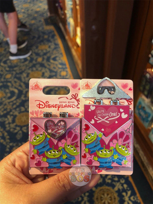 HKDL - Valentines Day 2019 Collection - Pin x Alien