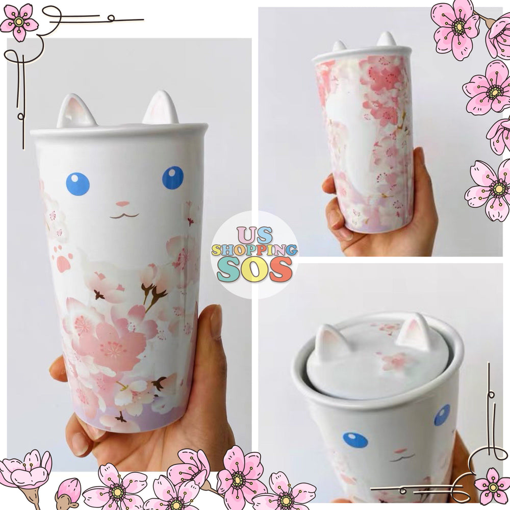 Starbucks China - Sakura Dream - 12oz Kitty Double Wall Tumbler