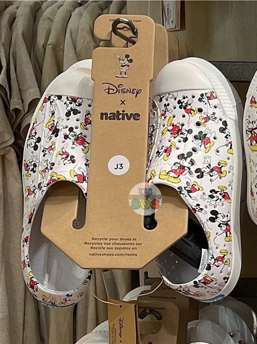 DLR - Native All-Over-Print Mickey Mouse Shoes (Youth)