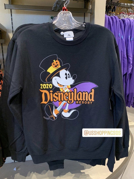 "DLR - 🎃 Halloween Time 2020 - Mickey ""Disneyland Resort"" Sweatshirt (Adult)"