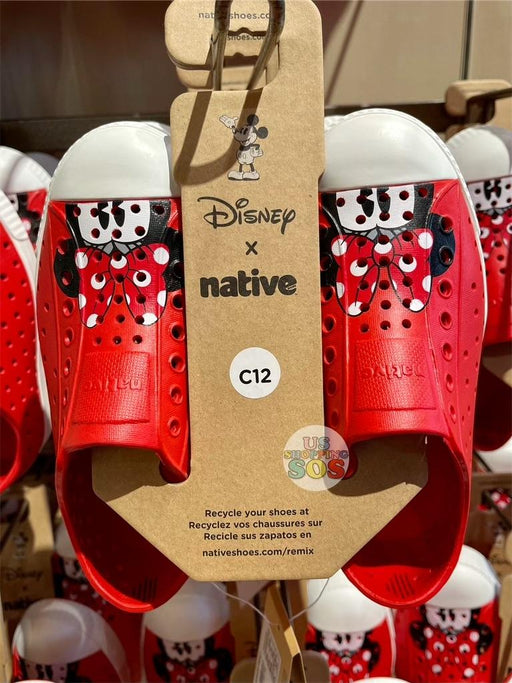 DLR - Native Minnie Mouse Shoes (Youth)