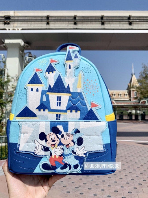 DLR - Disneyland Park 65th Anniversary - Loungefly Backpack