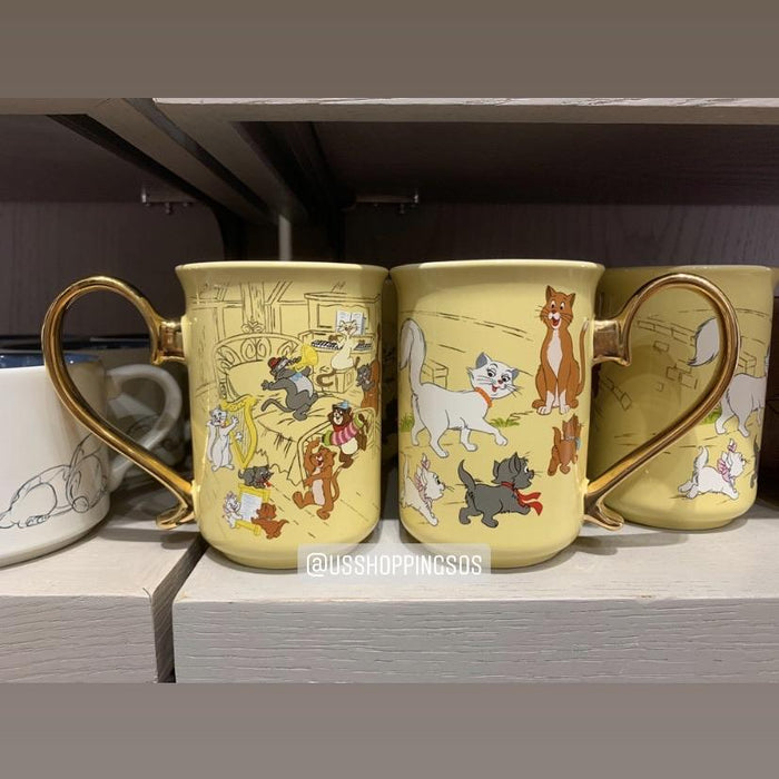 DLR - The Aristocats Graphic Mug (Yellow)