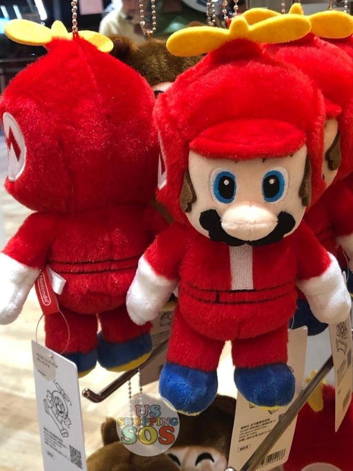 Japan Nintendo - Super Mario Plush Keychain x Hat